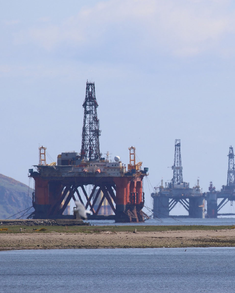 Areb Oil Rigs